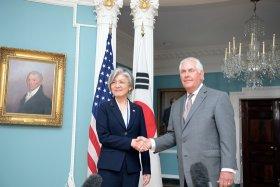 한·미 외교장관, 성공적 첫 정상회담 개최 위한 의지 재확인