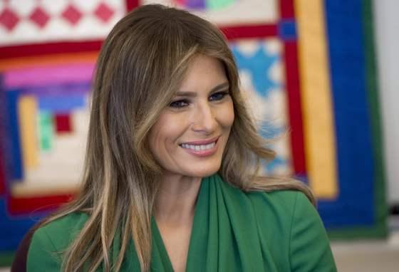 미국 대통령 영부인 멜라니아/사진=뉴스1