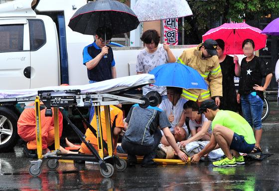 빗길 교통사고(사진과 기사 내용은 관련없음)/사진=뉴스1