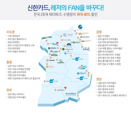 신한카드, 여름 휴가철 '썸머드림 페스티벌' 이벤트