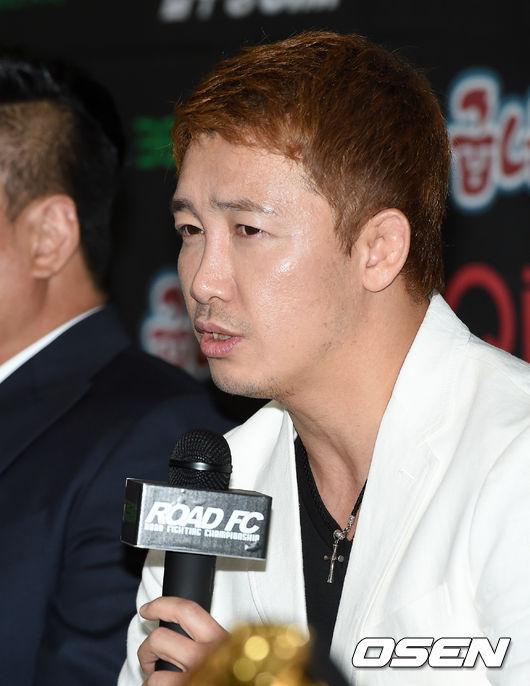 로드FC 정문홍 대표.<br /> <br />