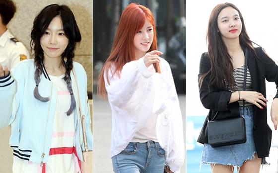 소녀시대 태연, 에이핑크 초롱, 트와이스 나연/사진=머니투데이 DB, 뉴스1