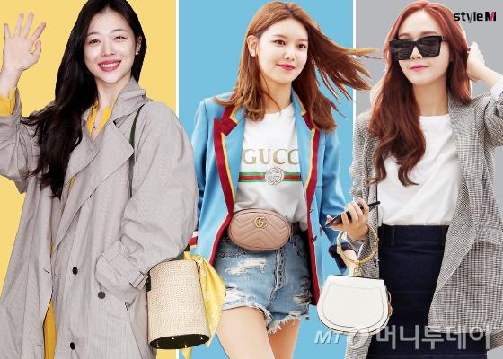 배우 설리, 그룹 소녀시대 수영, 가수 제시카/사진=머니투데이 DB
