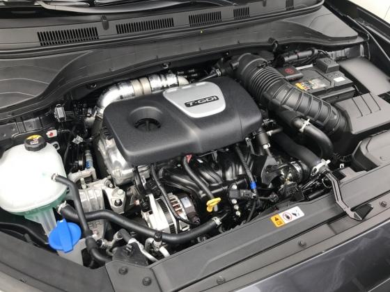 현대차 코나의 가솔린 1.6 터보 엔진 /사진=김남이 기자