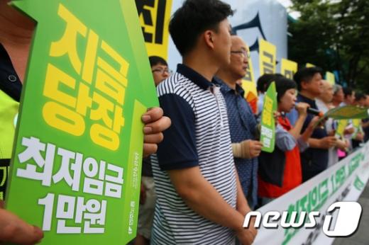 美·日·獨, 지역·업종별 최저임금 차등…韓 OECD 중위권