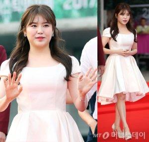 조혜정, '드레스+반묶음' 요정같은 미모…