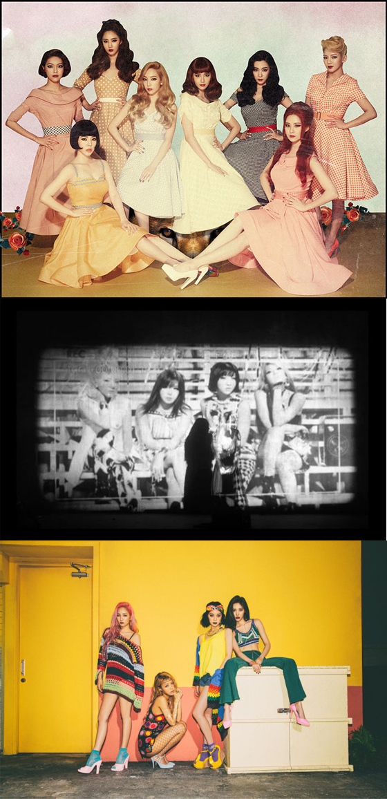 /사진=SM, YG, JYP 엔터테인먼트