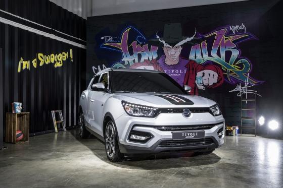 쌍용차는 오는 20일부터 소형 SUV 티볼리의 디자인을 개선하고 상품성을 높인 '티볼리 아머'(TIVOLI Armour)를 전국 전시장에서 판매한다고 17일 밝혔다. /사진제공=쌍용차