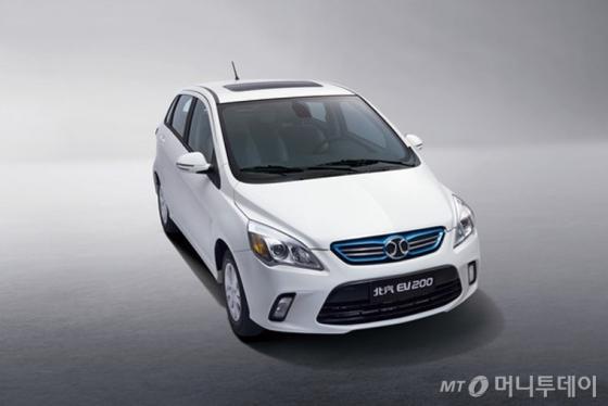 베이징자동차그룹 산하 BJEV의 전기 승용차 'EV 200'/사진=베이징자동차 홈페이지