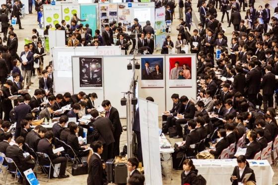 일본 채용 박람회./사진=블룸버그