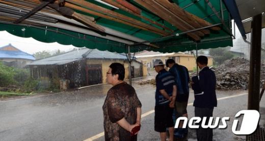 [사진]다시 내리는 폭우에 '근심'