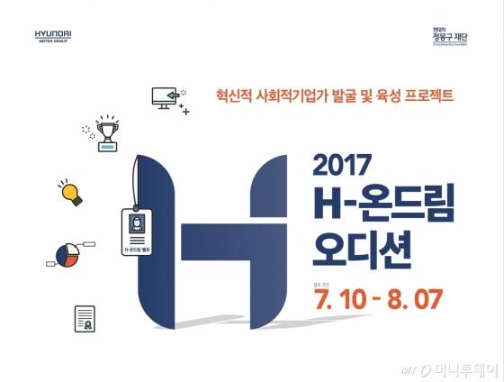 2017 H-온드림 오디션 사회혁신기업 모집