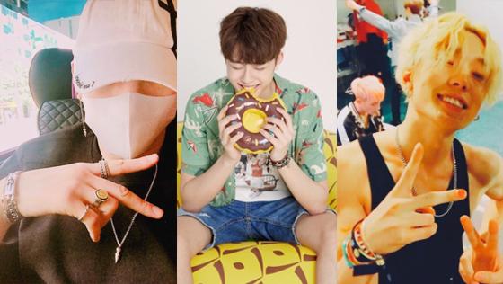 /사진=레오 인스타그램, 티몬, 아이콘 공식 인스타그램