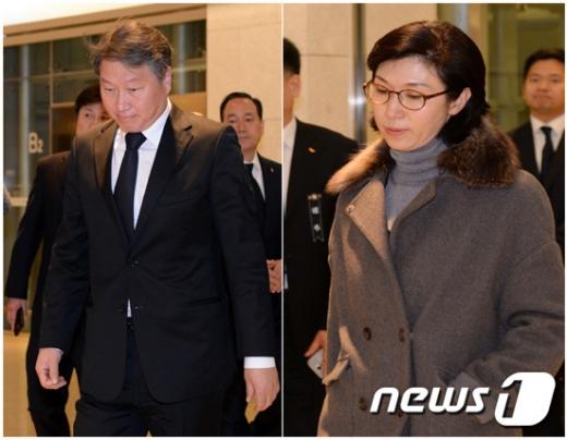 """최태원 회장, 이혼 조정 신청…노소영 """"이혼 안한다"""" (종합2보)"""