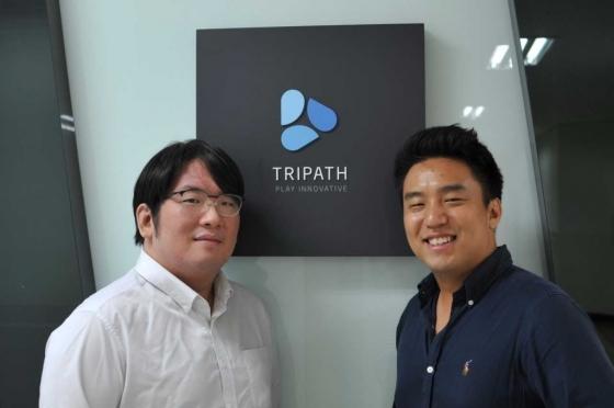 트라이패스 김동준 대표(왼쪽)와 정유석 대표/사진제공=트라이패스