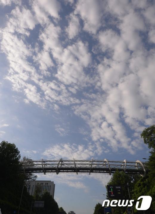 [사진]뽀송 뽀송 구름 낀 하늘