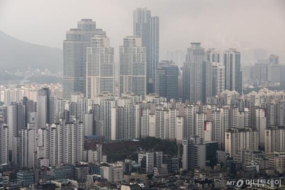 서울 강남권 아파트 밀집지역 전경. /사진제공=뉴스1