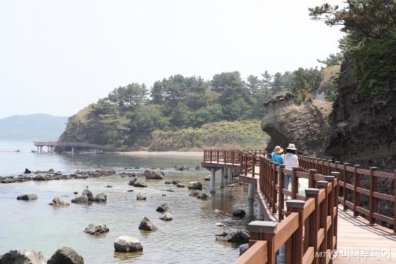 아름다운 해안을 따라 걷기 좋은 경북 포항의 호미반도 해안둘레길. /사진=이정화<br />