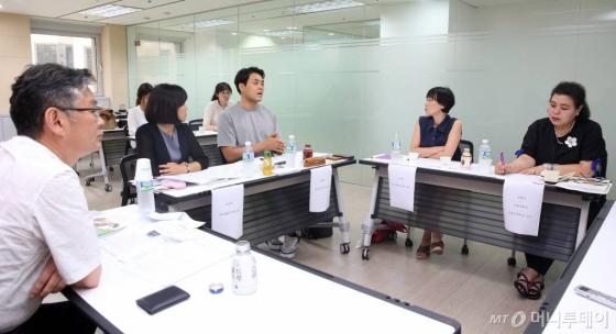 7월12일 서울 종로구 머니투데이 본사에서 열린 [창간기획-놀이가 미래다, 노는 아이를 위한 대한민국] 대담에 참석한 전문가들 /사진=임성균 기자