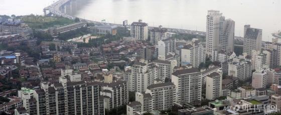 서울 강남구에 위치한 아파트단지 전경. /사진제공=뉴시스