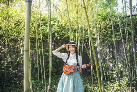 '한복, 여행하다'의 저자 권미루 한복여행가 대표. /사진제공=권미루 한복여행가 대표