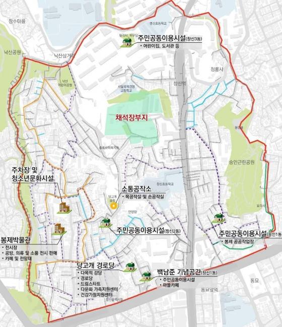 창신숭인 도시재생 지도. /사진제공=창신숭인 도시재생센터