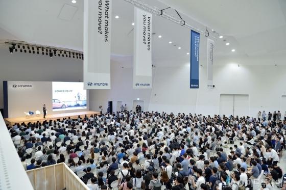 지난해 서울 동대문디자인플라자에서 열린 잡페어 현장./사진제공=현대차