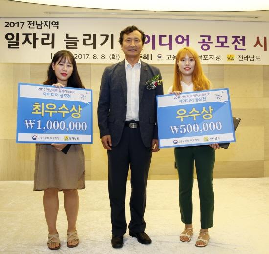 목포대, 전남 일자리 경진대회 수상자 배출