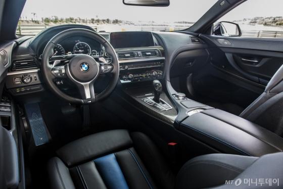 '640d xDrive M 스포츠 리미티드 에디션' 내부/사진제공=BMW 코리아