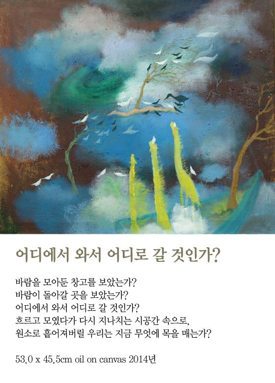 [김혜주의 그림 보따리 풀기] 어디에서 와서 어디로 갈 것인가?