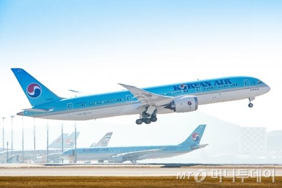 대한항공이 보유한 '보잉 787-9' /사진제공=대한항공