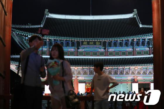 [사진]'여름밤 고궁의 정취'