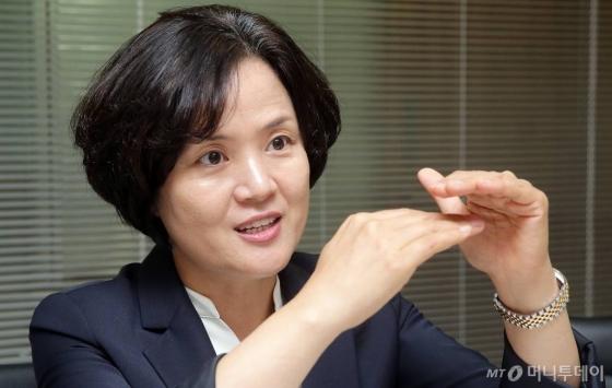 강혜정 수요관리사업자협회 회장. /사진=김창현 기자