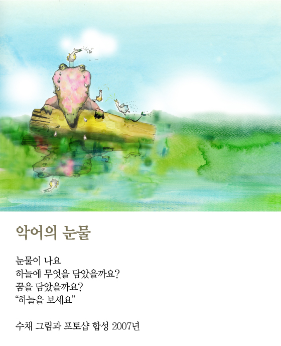 [김혜주의 그림 보따리 풀기] 악어의 눈물
