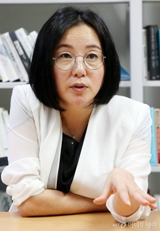 더불어민주당 원내 대변인 제윤경 의원/사진=김창현 기자