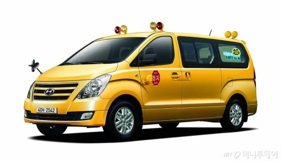 현대자동차는 스타렉스 어린이보호차∙버스 LPG모델을 9월 4일 출시한다. /사진제공=현대자동차