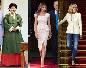 영부인 옷 속 숨겨진 의미?…'패션 외교'의 모든 것