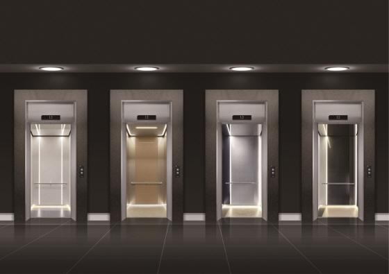 현대엘리베이터가 4일 출시한 신제품 '네오'/사진제공=현대엘리베이터<br />