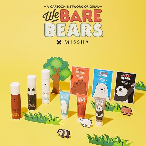 위 베어 베어스(We BARE BEARS) 에디션/사진제공=미샤