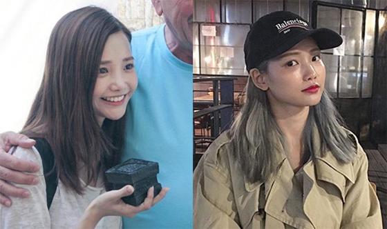 앞서 하연수 인스타그램에 올라온 사진(왼쪽)과 최근 게재된 하연수 사진(오른쪽). /사진=하연수 인스타그램