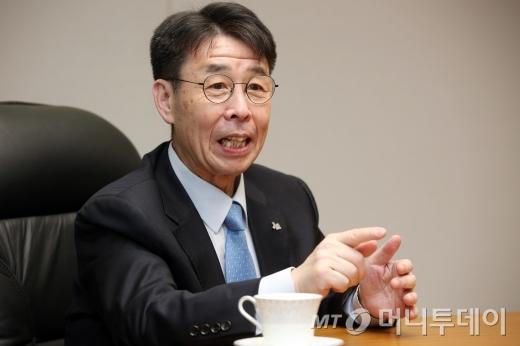 김윤영 서민금융진흥원장. / 사진=임성균 기자