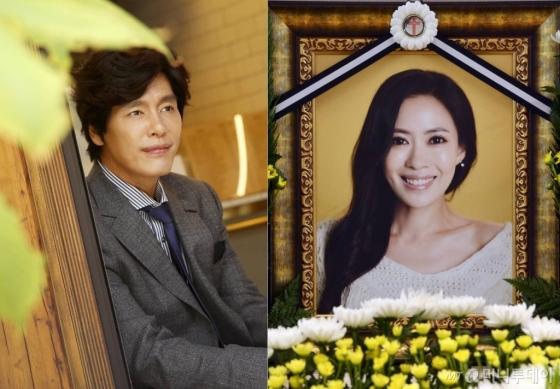 배우 최성국과 고(故) 유채영./ 사진=김휘선(왼쪽), 이기범 기자