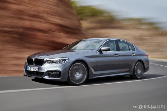 '2018년형 뉴 5시리즈'/사진제공=BMW 그룹 코리아