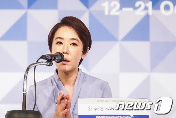 강수연 부산국제영화제 집행위원장/사진=뉴스1