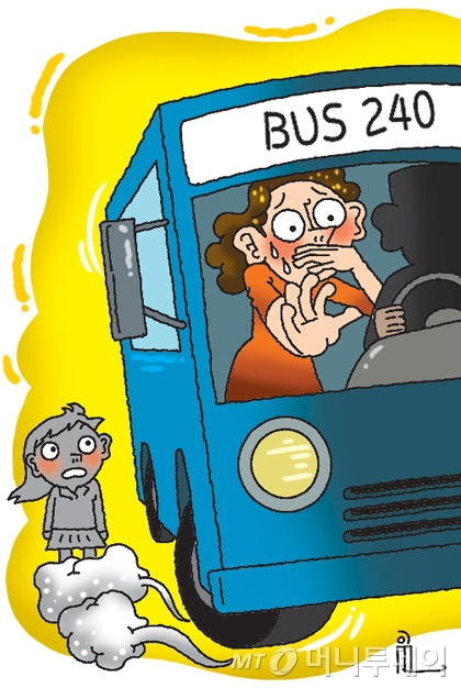 """[단독]""""4살 아이만 내렸다""""…'240번 버스'에 들끓는 분노"""