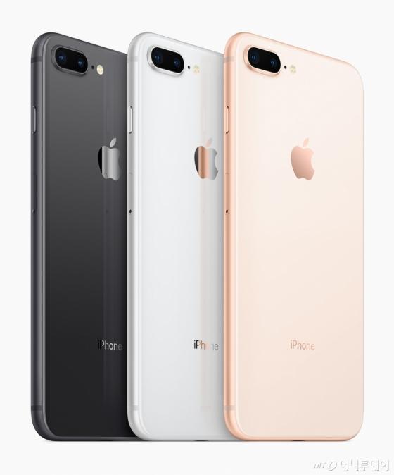 아이폰8 시리즈./ 사진=애플