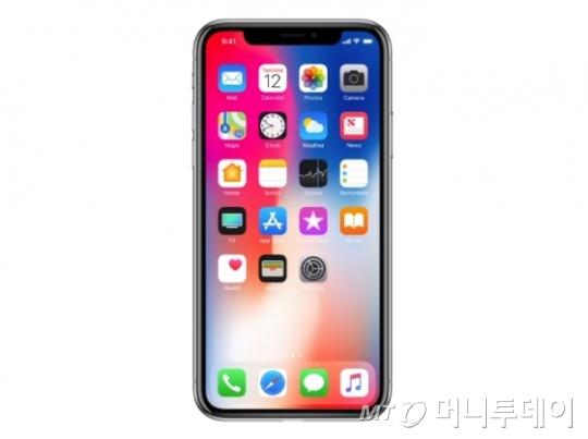 애플 '아이폰X'/사진제공=애플
