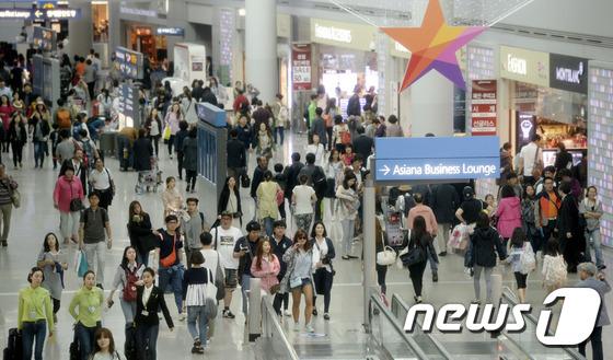인천공항 면세점/사진=뉴스1