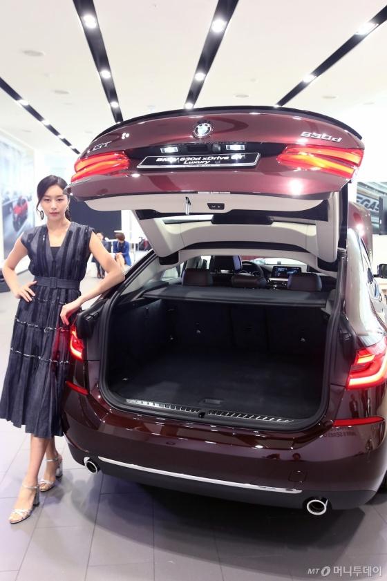 [사진]뉴 6시리즈 그란 투리스모 넓은 트렁크 공간