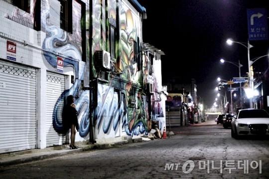 영화 '동두천'을 2D로 촬영한 한 장면. /사진=네이버스틸컷